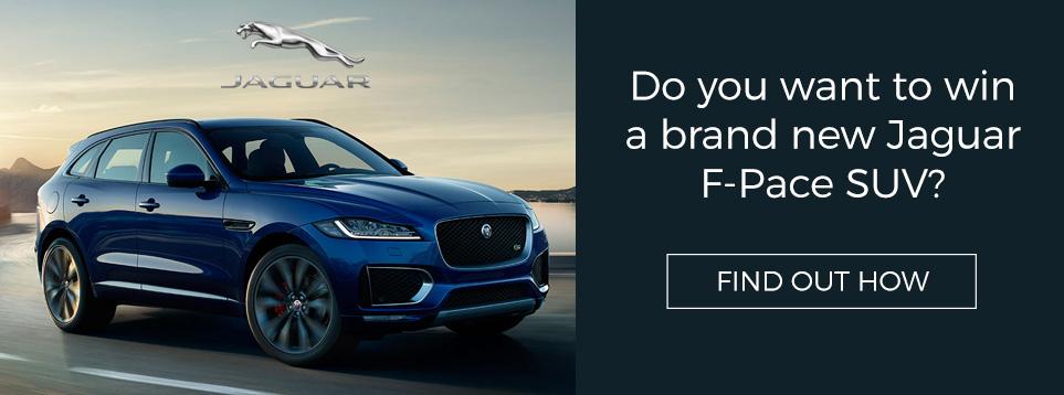 Win a Jaguar F-Pace SUV